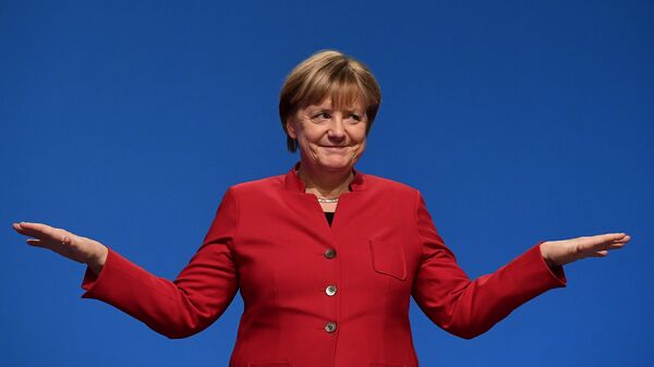 La cancelliera Angela Merkel - Sputnik Italia