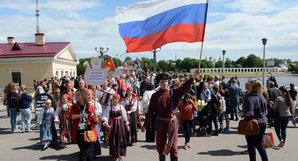 Celebrazioni del giorno della Russia