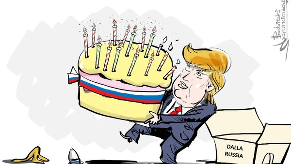 Buon compleanno, Donald! - Sputnik Italia
