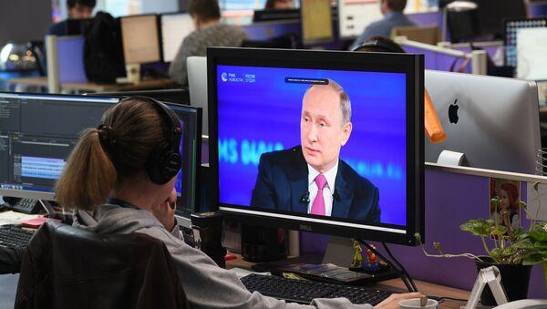 La linea diretta con Vladimir Putin - Sputnik Italia
