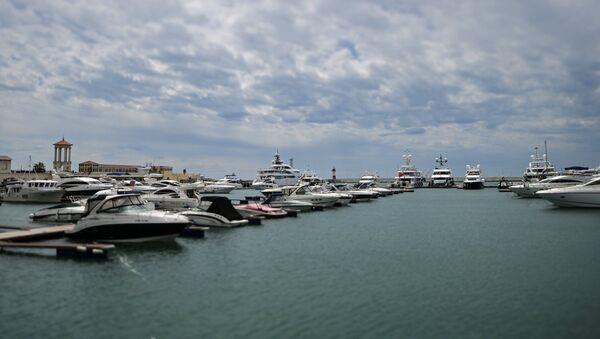 Yachts in the Sochi port. - Sputnik Italia