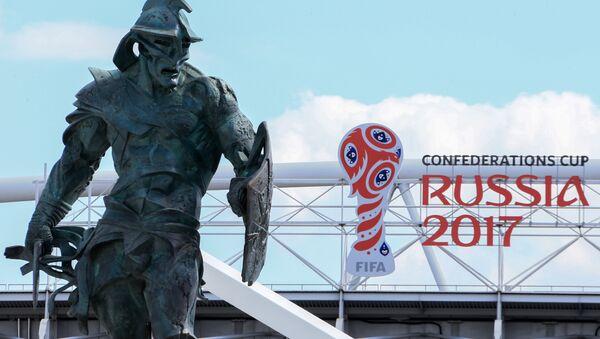 Lo stadio dello Spartak Mosca, che ospiterà 4 partite della Confederations Cup - Sputnik Italia