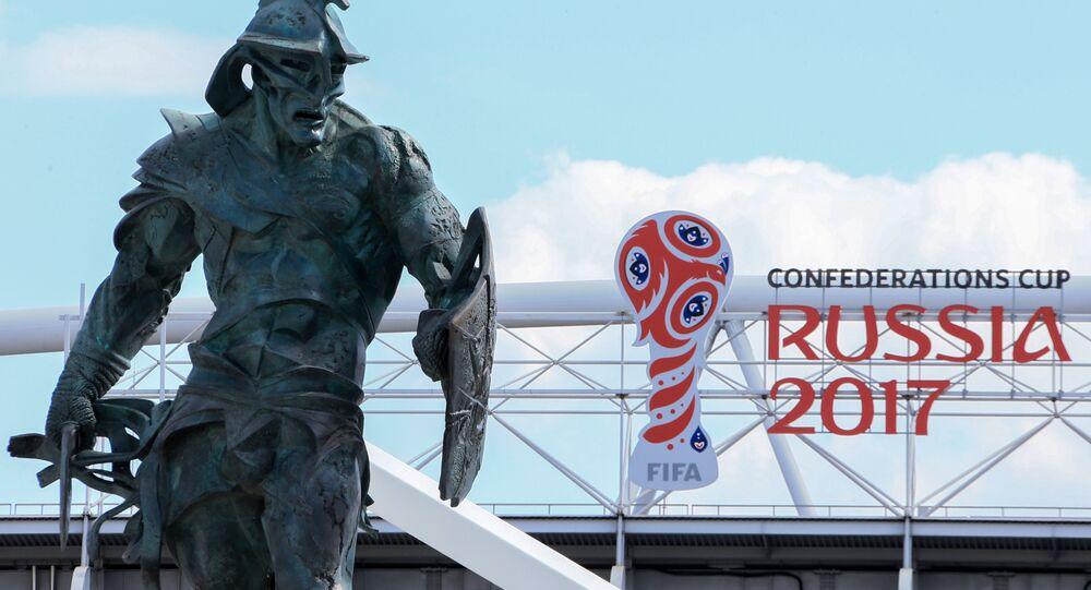 Stadio di Mosca che ospiterà la Confederations Cup