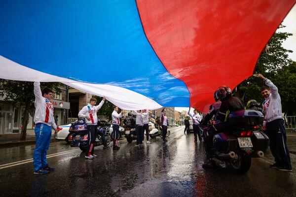 Le celebrazioni del Giorno della Russia a Novosibirsk. - Sputnik Italia