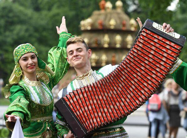 Il festival Samovarfest a Mosca. - Sputnik Italia