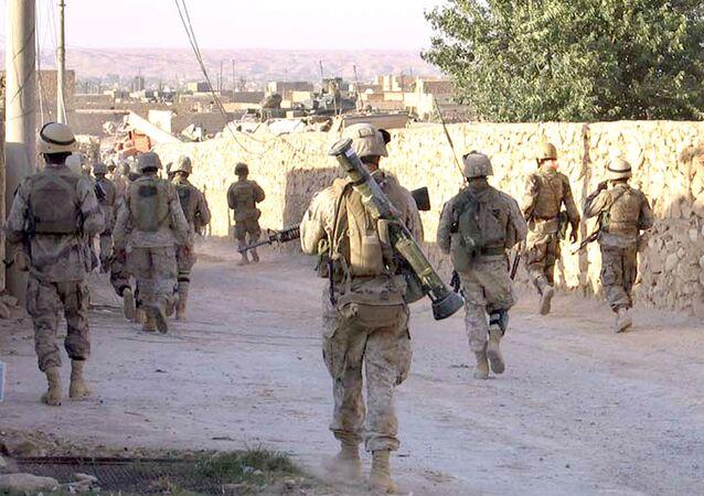 Soldati americani in Medio Oriente
