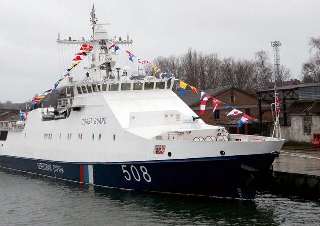 Nuovo pattugliatore della Guardia Costiera della Crimea
