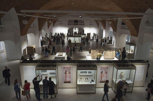 Le meraviglie del Museo Egizio all' Hermitage di San Pietroburgo - Sputnik Italia