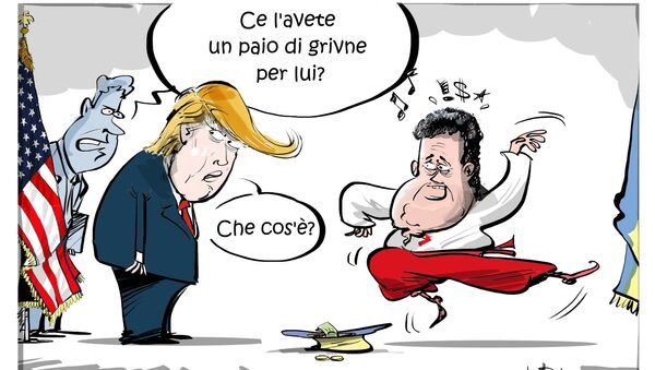 Incontro di Trump e Poroshenko - Sputnik Italia