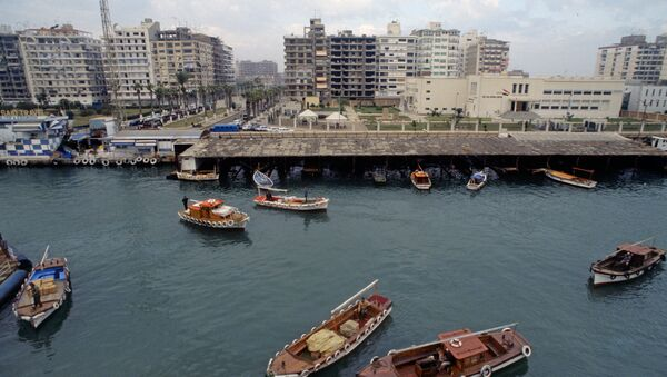 Port Said. View at Suez Canal - Sputnik Italia