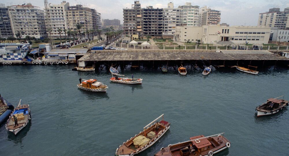 Port Said.