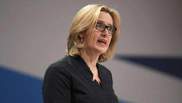 Il ministro dell'Interno del Regno Unito Amber Rudd - Sputnik Italia