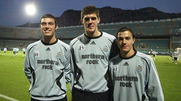 Al Newcastle durante una trasferta di Coppa Uefa a Palermo nella stagione 2007-08 - Sputnik Italia