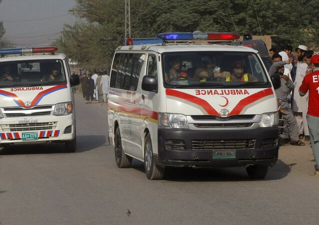 Ambulanza in Pakistan