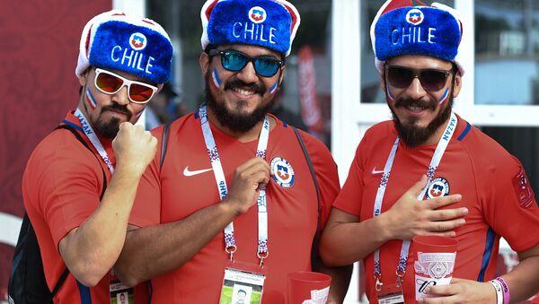 Football. 2017 FIFA Confederations Cup. Chile vs. Australia - Sputnik Italia