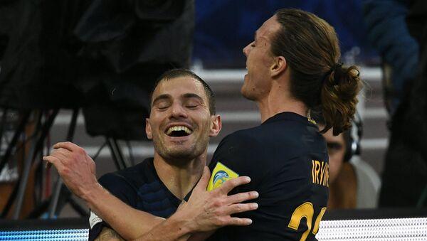 James Troisi esulta dopo il gol segnato al Cile nella Confederations Cup - Sputnik Italia
