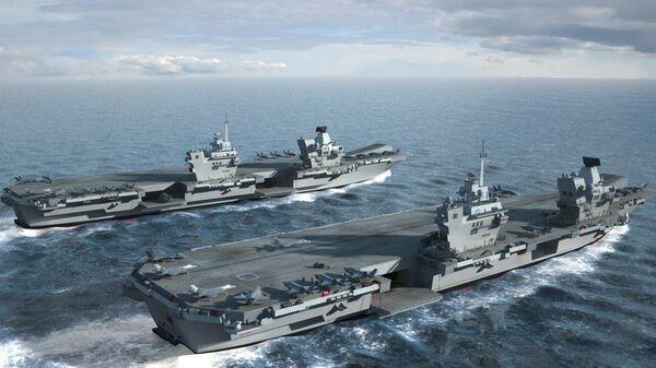 HMS Queen Elizabeth & HMS Prince of Wales - Sputnik Italia