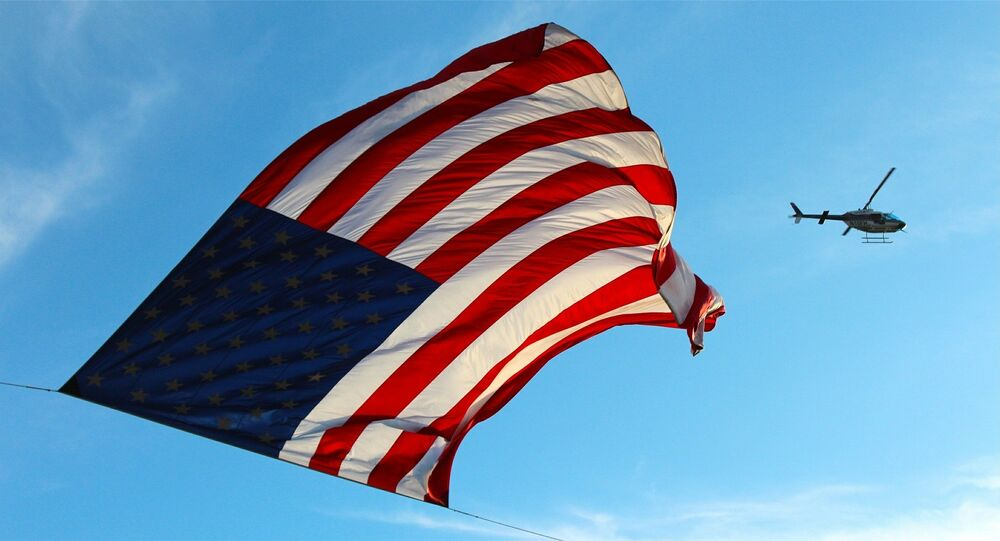 La bandiera degli USA