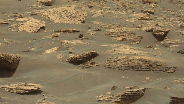 This image was taken by Mastcam: Left (MAST_LEFT) onboard NASA's Mars rover Curiosity - Sputnik Italia