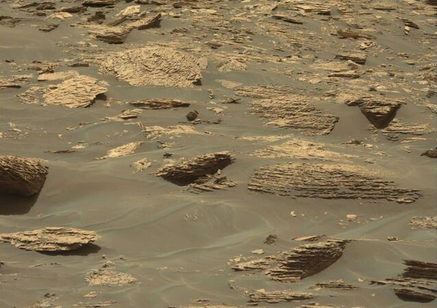 This image was taken by Mastcam: Left (MAST_LEFT) onboard NASA's Mars rover Curiosity