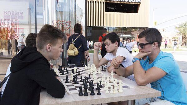 Partita a scacchi al padiglione russo di EXPO 20154 - Sputnik Italia