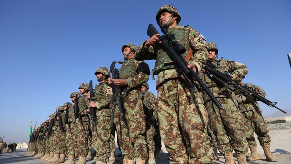 Forze di sicurezza afghane. Afghanistan - Sputnik Italia