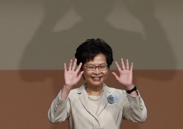 Carrie Lam, Capo esecutivo di Hong Kong
