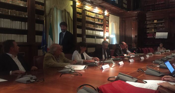 La conferenza stampa della mostra Volti di Palmira ad Aquileia