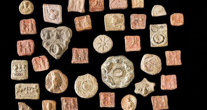 Tessere palmirene I-III secolo d.C.
