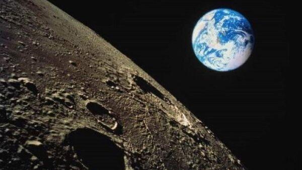 La vista su Terra dalla luna - Sputnik Italia