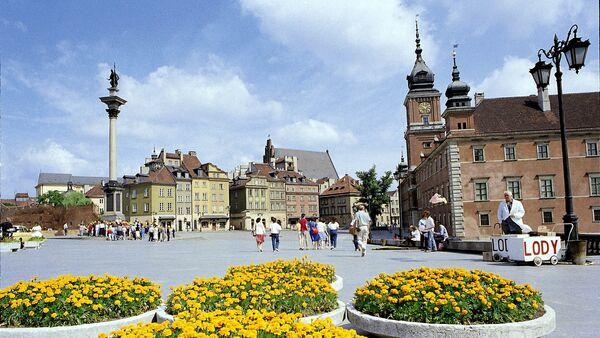 Veduta del centro storico di Varsavia, 1988 - Sputnik Italia