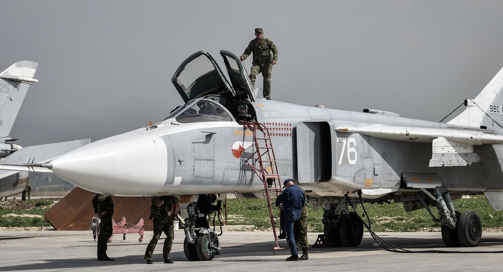 Base militare russa a Hmeimim, Siria (foto d'archivio)