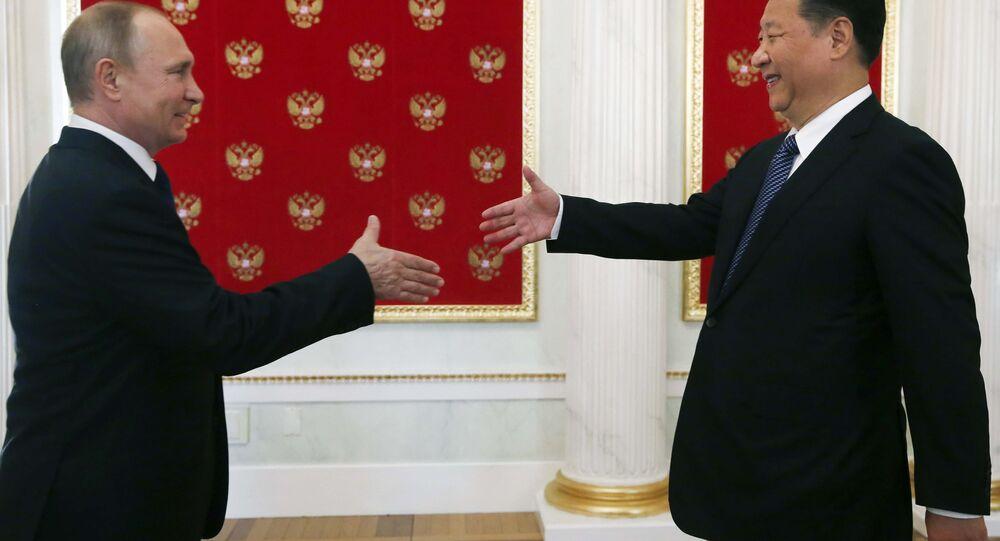 Conferenza stampa tra Vladimir Putin e Xi Jinping
