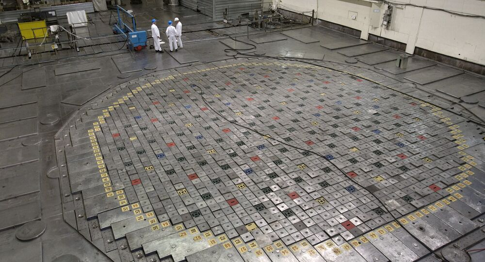 Reattore della centrale nucleare di Leningrado