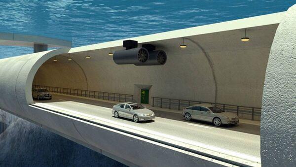 Underwater tunnel - Sputnik Italia