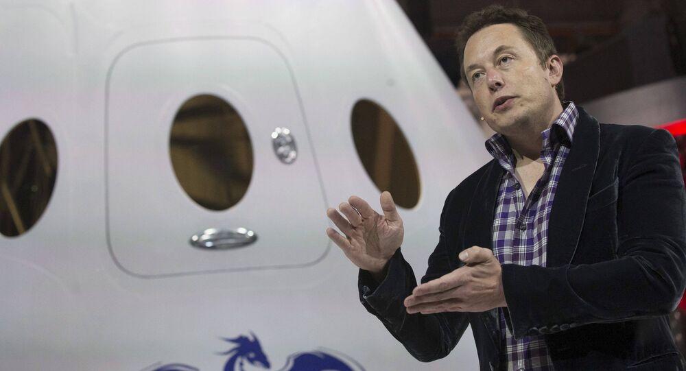 A.D. e proprietario della compagnia SpaceX Elon Musk (foto d'archivio)