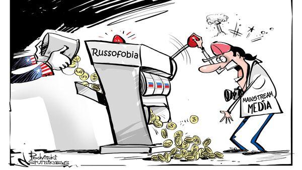 Vincita garantita nel gioco della russofobia - Sputnik Italia