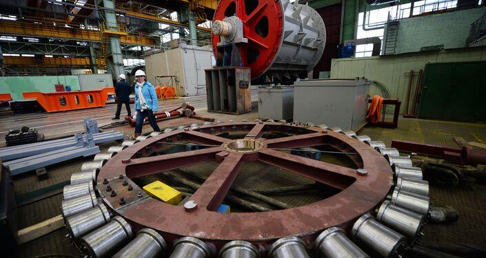 Un macchinario dello stabilimento UralMashZavod di Ekaterinburg