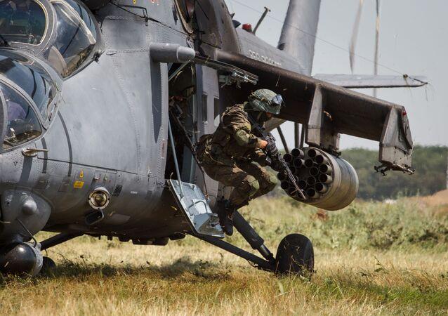 Elicottero Mi-35 (foto d'archivio)