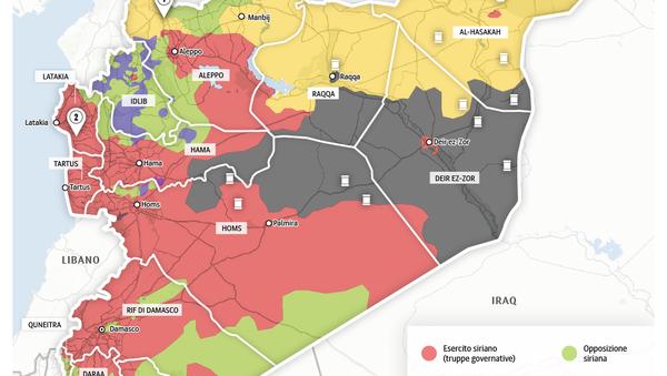 Offensiva contro l'ISIS in Siria - Sputnik Italia