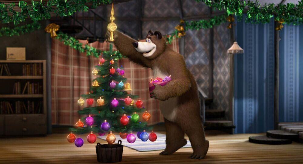 Il cartone animato Masha e Orso