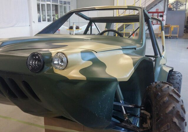 """L'automobile anfibia volante """"Triton"""""""