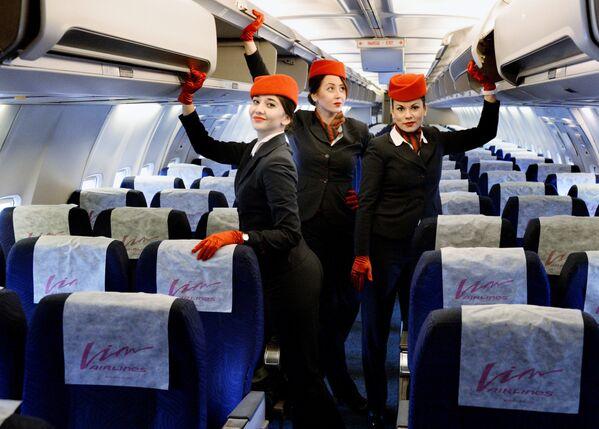Le hostess più belle del mondo - Sputnik Italia