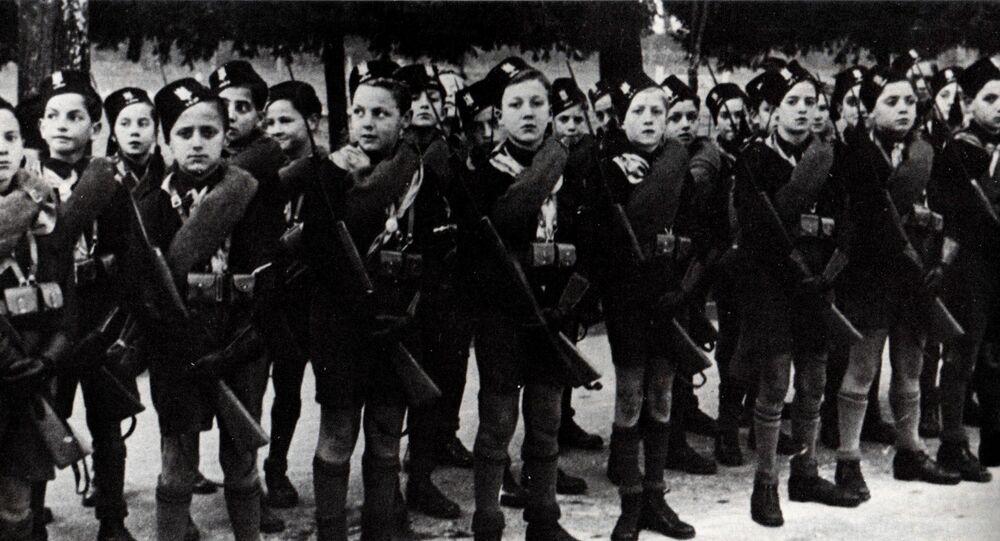 Adunata dei Balilla fascisti, 1928