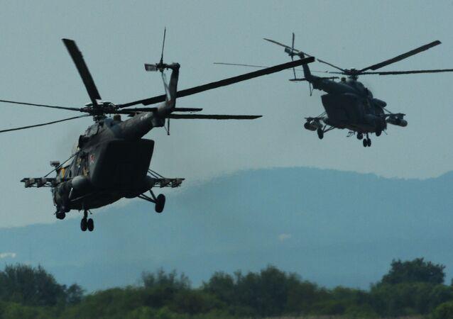 Elicotteri Mi-8 (foto d'archivio)