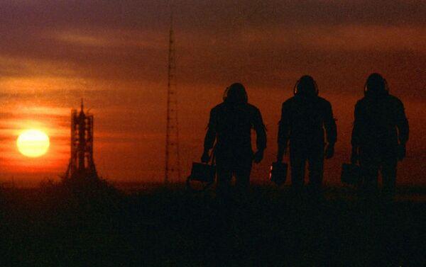 Il tramonto al cosmodromo Baykonur - Sputnik Italia