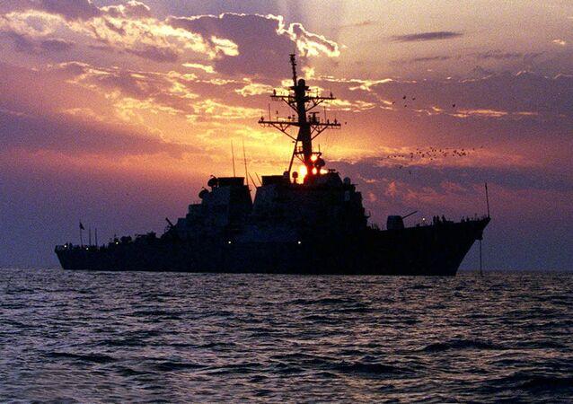 Un cacciatorpediniere USA. (foto d'archivio)