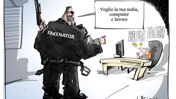 Fakenator - Sputnik Italia