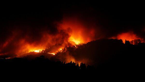 Лесные пожары в Португалии - Sputnik Italia