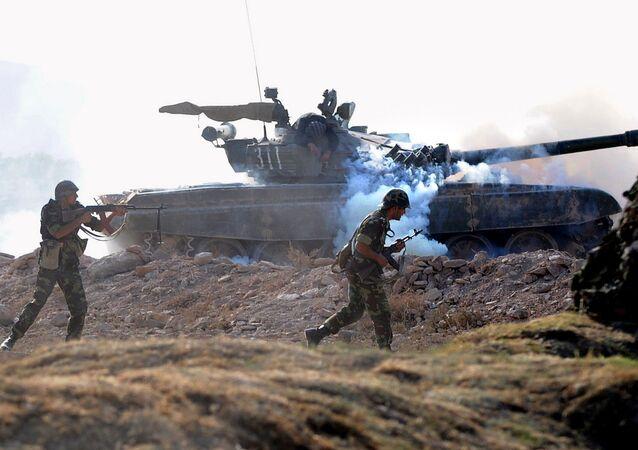 Esercitazioni militari di Russia e Armenia (foto d'archivio)